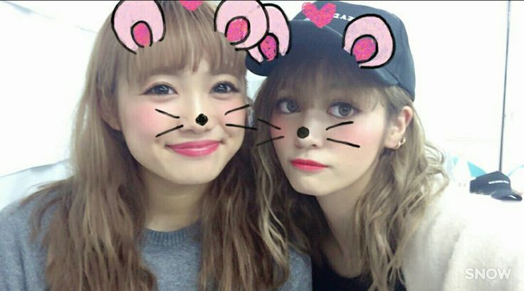 E-girls Happiness 山口乃々華 楓 Yamaguchi Nonoka Kaede