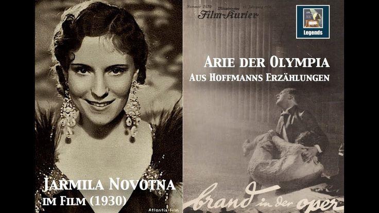 """Jarmila Novotna """"Arie der Olympia"""" (Hoffmanns Erzählungen) 1930 Film Fo..."""