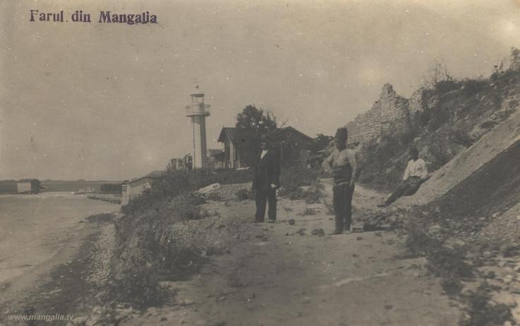 Mangalia - Farul Vechi - antebelica