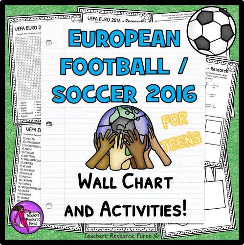 UEFA European Football Activities for teens (France 2016)