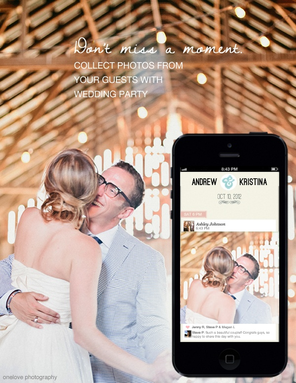 72 best wedding party images on pinterest marriage parties and wedding party the mobile app that lets guests contribute photos to gorgeous shared albums scores a million dollar seed round junglespirit Choice Image