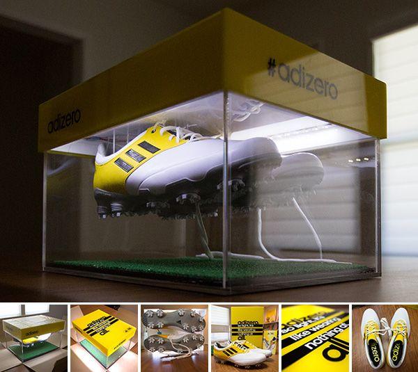 Adidas golf adizero superlight shoes, press kit.