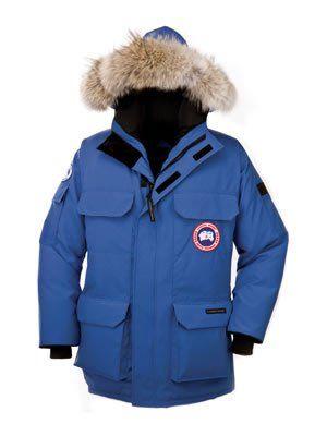 Best Quality: Canada Goose Expedition Polar Bear International Parka, Royal PBI Blue, Medium