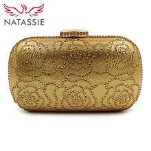 Natassie 2017 neue abendtaschen frauen metall box erfasst damen party tasche mit kette gold hochzeit geldbörse silber handtaschen //Price: $US $18.99 & FREE Shipping //     #dazzup