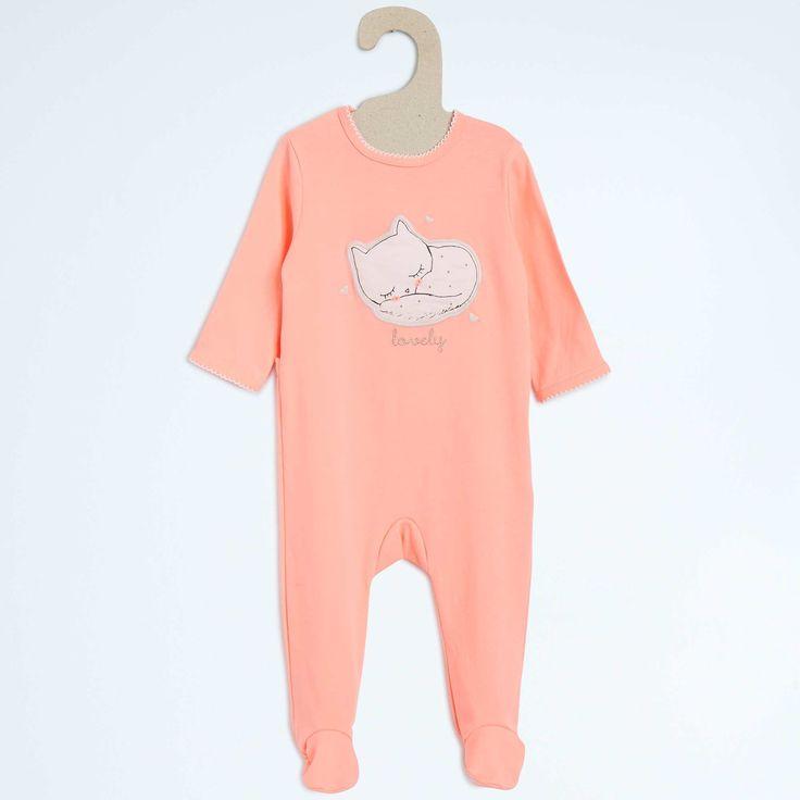 Pyjama en coton Bébé fille - Kiabi - 9,00€