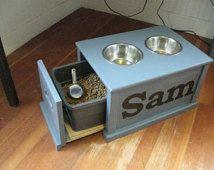 dog feeding station - Google Search