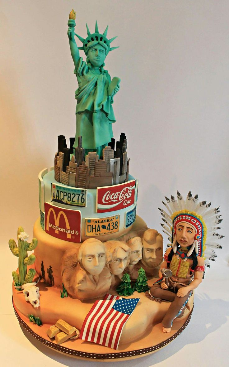 Cake Art Usa : The 25 best images about USA Cakes on Pinterest Dubai ...