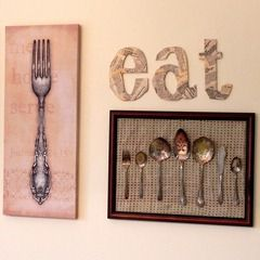 This is some awesome kitchen wall art.