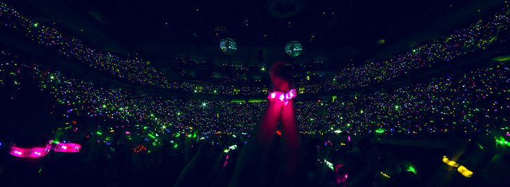 Coldplay Xylobands in Montreal