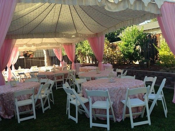 46 best images about baby shower ideas on pinterest pink for Baby shower canopy decoration