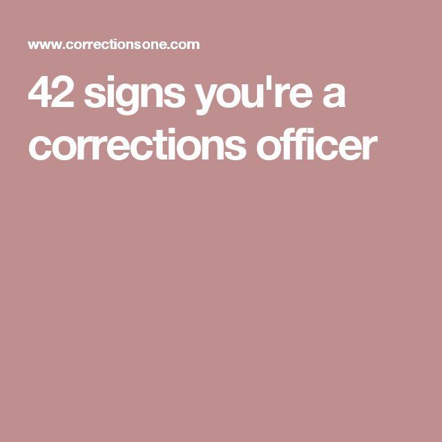 Best  Correctional Officer Humor Ideas On