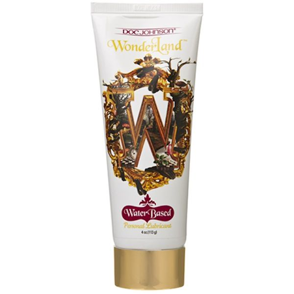 Wonderland Personal Lube – Water Based for Sale  Size: 115ml     Looking for a lubricant for your next sexual encounter that also pampers your sensitive skin?  The Water-Based Wonderland Lubricant is hypoallergenic to produce a wet experience that you can feel confident about  The gly