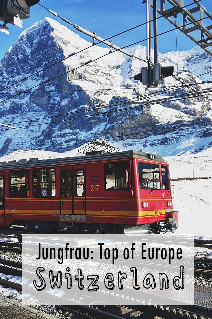 Must see in Switzerland: Jungfraujoch! Read about my day trip from #Zurich through the Bernese Oberland and on to Jungfrau! #Switzerland #travel #train #Europe #alps #mountains #photography #winter #winteriscoming #autumn #snow