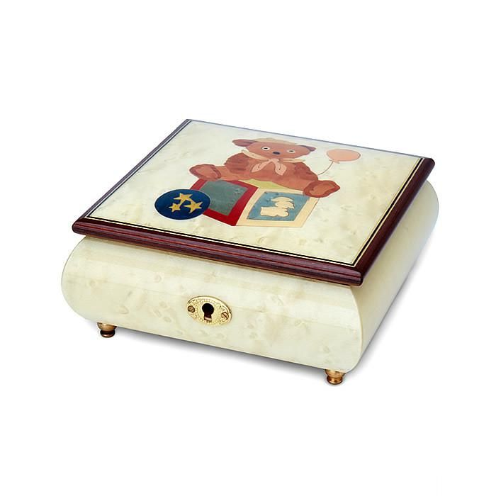 "Jewellery Box with Melody playing ""It's a Small World"""