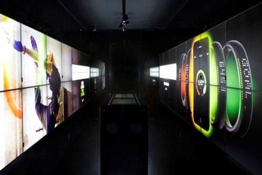 2012 London's Interactive NikeFuel Station Breaks Digital Design Boundaries #digitalinstore