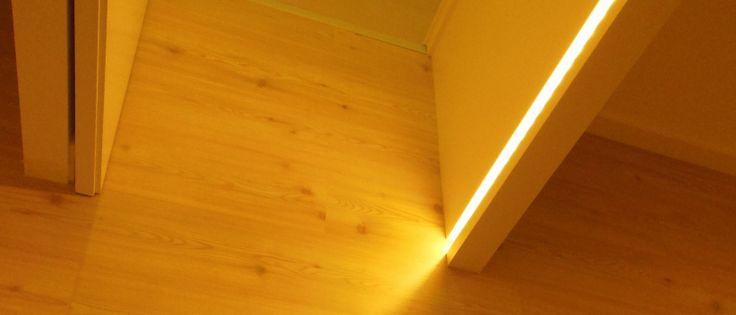iluminação led em aro