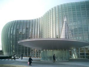 建築デザイン - 国立新美術館 - KENCHIKU