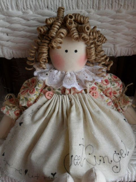 pap cabelinhos: Country Dolls, Rag Doll, Hair