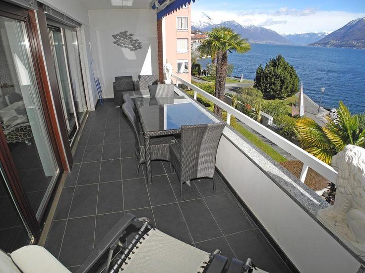 Schmucke Terrasse in Brissago am Lago Maggiore.