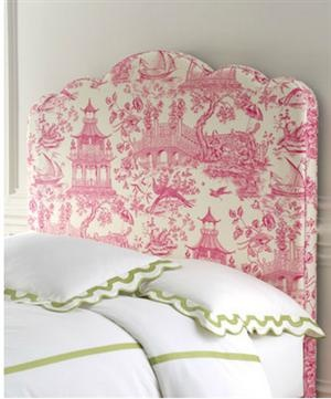 DIY Chinoiserie Headboard High/Low