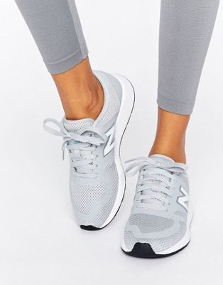 New Balance 420 Micro Mesh Trainers In Grey at Asos