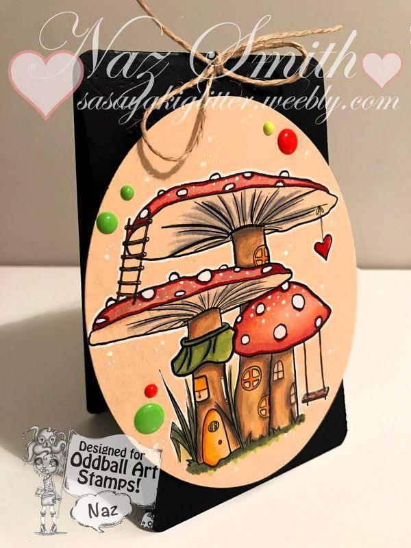 Oddball Art Stamps