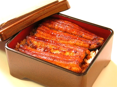 unagi unajyu #hamamatsu #shizuoka #japan.  In Japan is in the habit of eating eel to give nutrients to the Midsummer Day of the Ox, get through the hot season.