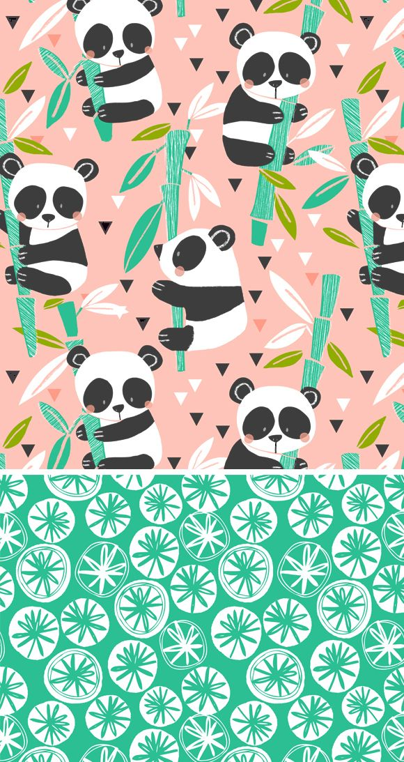 wendy kendall designs – freelance surface pattern designer » panda garden