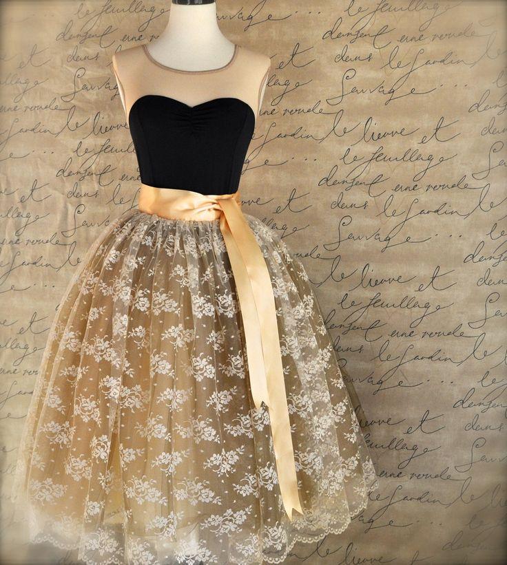 Amazing Details About Women Stylish 5 Layers Tutu Skirt Petticoat KneeLength