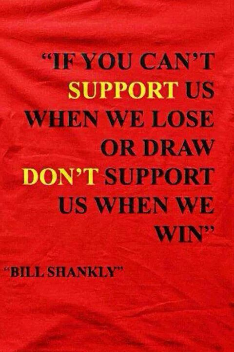 Amen The great Bill Shankly