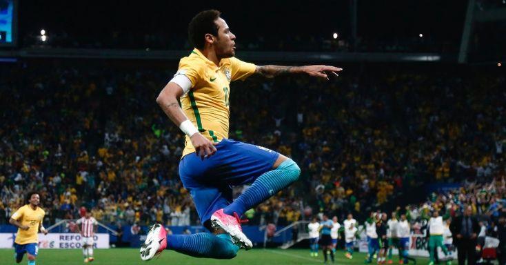 WORLD CUP 2018 QUALIFIER: Com novo brilho de Neymar, Brasil vence Paraguai e se classifica para Copa da Rússia.