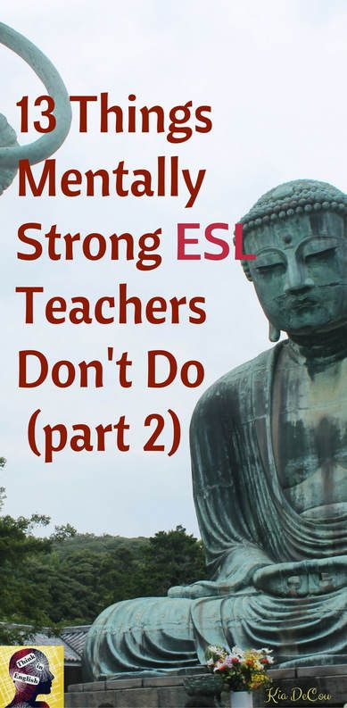 Teaching English as a Second or Foreign Language can be a challenging job. This post is full of ideas for how to stay strong so you love teaching and your students get the most out of your class.