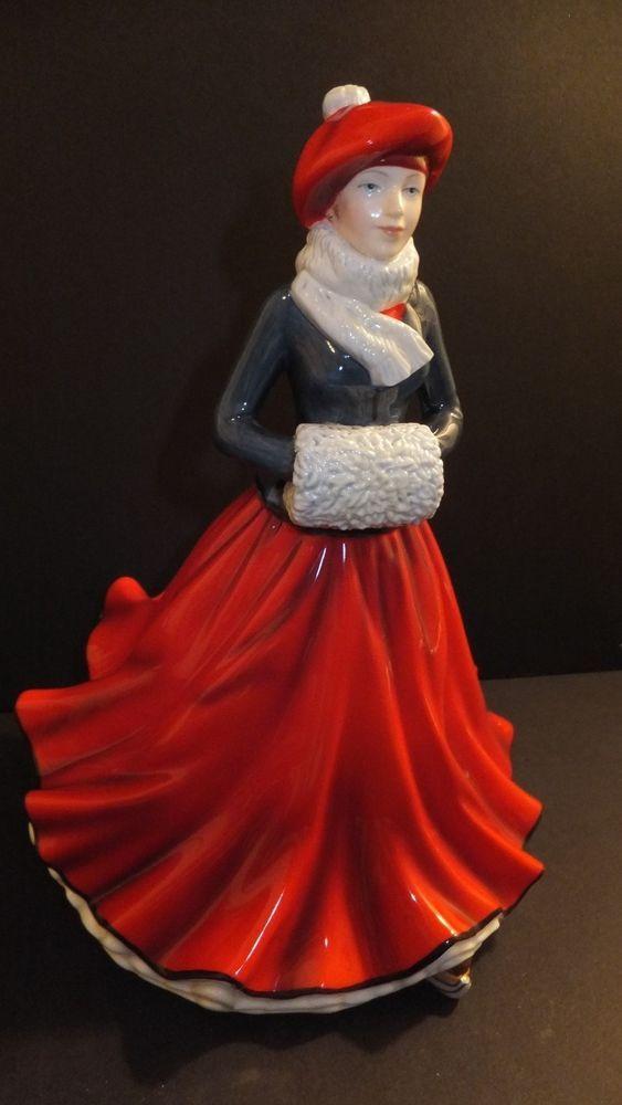 Royal doulton christmas figurine of the year festive