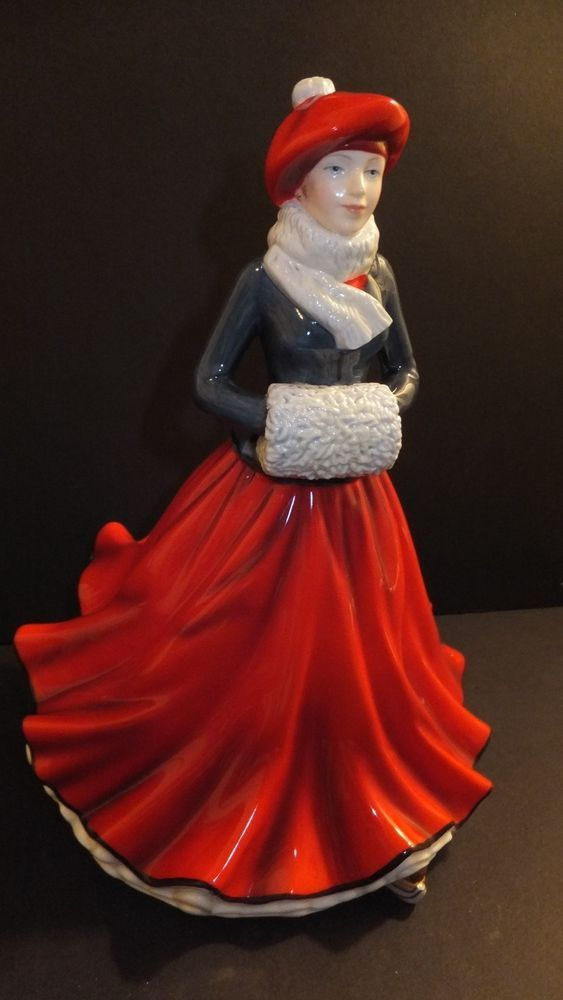 Royal Doulton 2014 Christmas Figurine Of The Year Festive