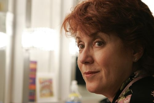 """Judy Kaye in 2007, backstage at the Herberger Theater Center, where she was starring in Arizona Theatre Company's """"Souvenir."""""""