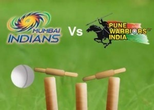 PWI VS Live IPL Score: Today's 2013 Indian Premier League (IPL) 15th match between the Mumbai Indians (MI) and Pune Warriors India (PWI).  Welcome Today' IPL 15th match between Mumbai Indians (MI) against Pune Warriors India (PWI) at Wankhede Stadium, Mumbai grounds.