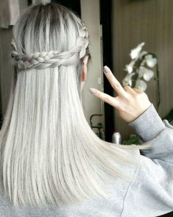 Grey Frisuren für einen heißen neuen Look zu versuchen | cortes … – Damen Haare
