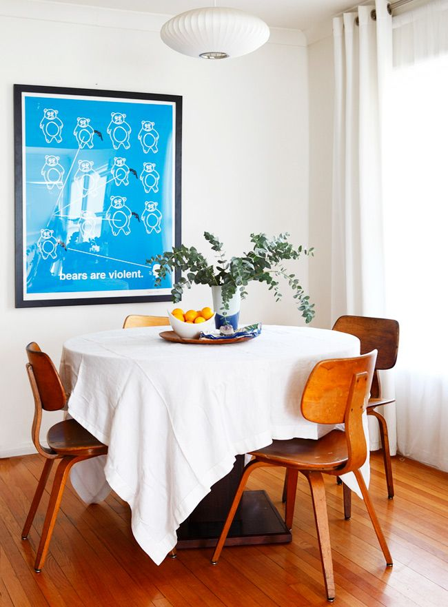 I Need A White Tablecloth For My Teak Dining Room Table