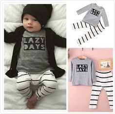 ToysRus Cyber Monday Deals Newborn Infant Ba... http://e-baby-z.myshopify.com/products/newborn-infant-baby-boy-girl-autumn-spring-cotton-clothes-t-shirt-pants-bunny-romper-outfits-2pcs-baby-clothing-set?utm_campaign=social_autopilot&utm_source=pin&utm_medium=pin Great prices everyday @Ebabyz.online