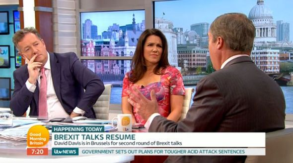Nigel Farage calls for hard Brexit as he claims Tony Blair has 'LOST IT' during GMB chat - http://buzznews.co.uk/nigel-farage-calls-for-hard-brexit-as-he-claims-tony-blair-has-lost-it-during-gmb-chat -