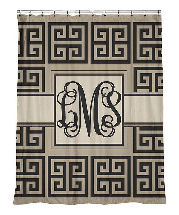 Designs By Southern Charm Greek Key Monogram Shower
