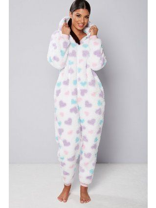 1daa6c999 Fluffy Heart Onesie