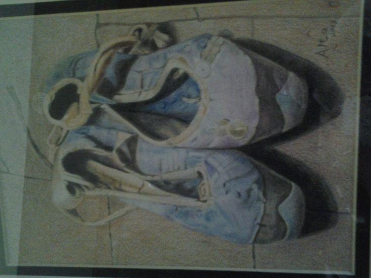 Old ballet shoes...