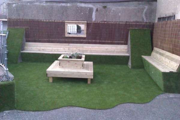 Beautiful Garden Space - Synthetic Grass.