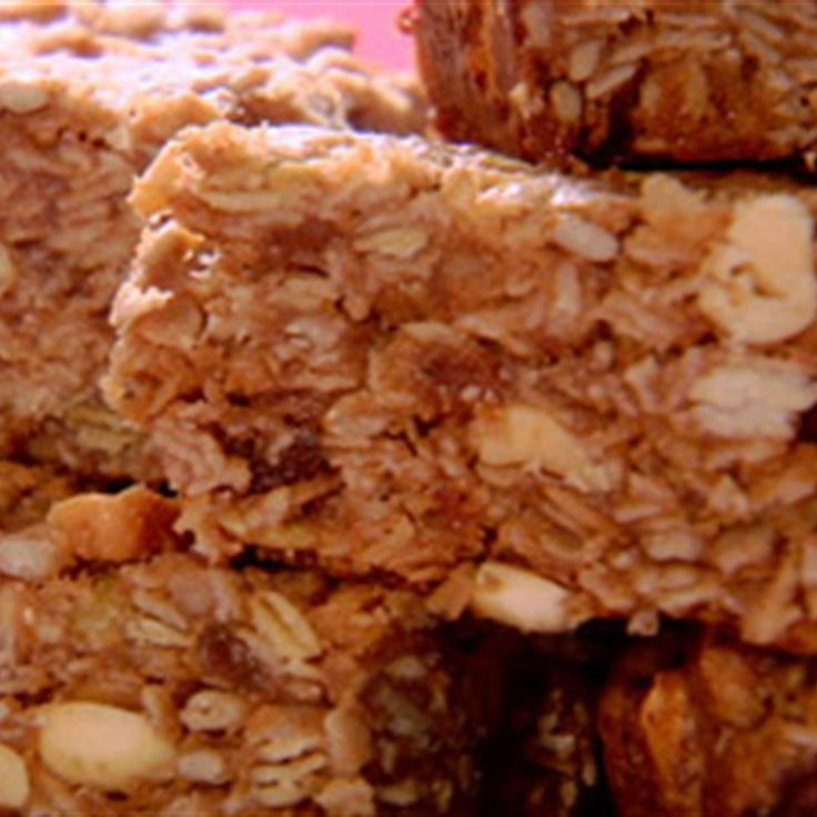 Try this Granola Bars recipe by Chef Anna Olson. This recipe is from the show Fresh.