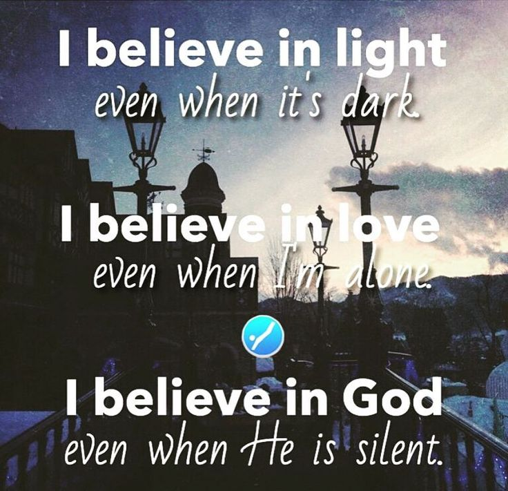 Saya percaya akan Terang walaupun berada di kegelapan Saya percaya akan Cinta walau terkadang saya sendirian dan saya percaya akan Tuhan walaupun terlihat Dia seperti diam.  Tuhan tak pernah Diam! Dia sedang membuat segala sesuatu indah pada waktuNya serahkan pergumulanmu di hadapanNya ketika Engkau Jatuh Tuhan sedang Lari untuk menolongmu. Amin.  #repost #God #jesus #christ #yesus #kristus #tuhan #love #kasih #light #terang #hope #harapan #pray #doa #akunkristen #christianaccount by…