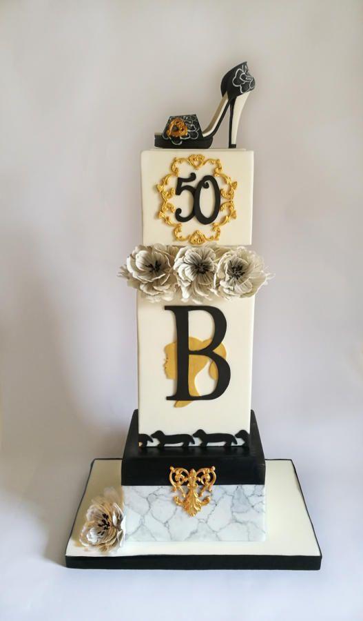 Lady B Cake by Dolci Ritratti di Katia Malizia
