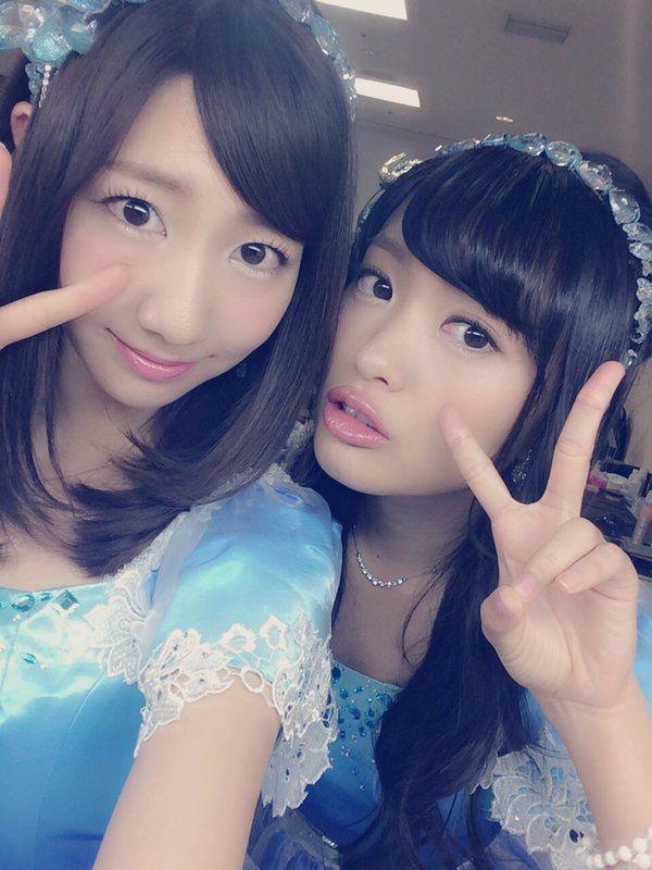 Yukirin & Kitarie #NGT48 #AKB48