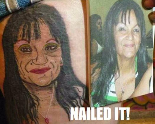 Best Hilarious Nailed It Moments Images On Pinterest Animal - 24 funniest tattoo fails