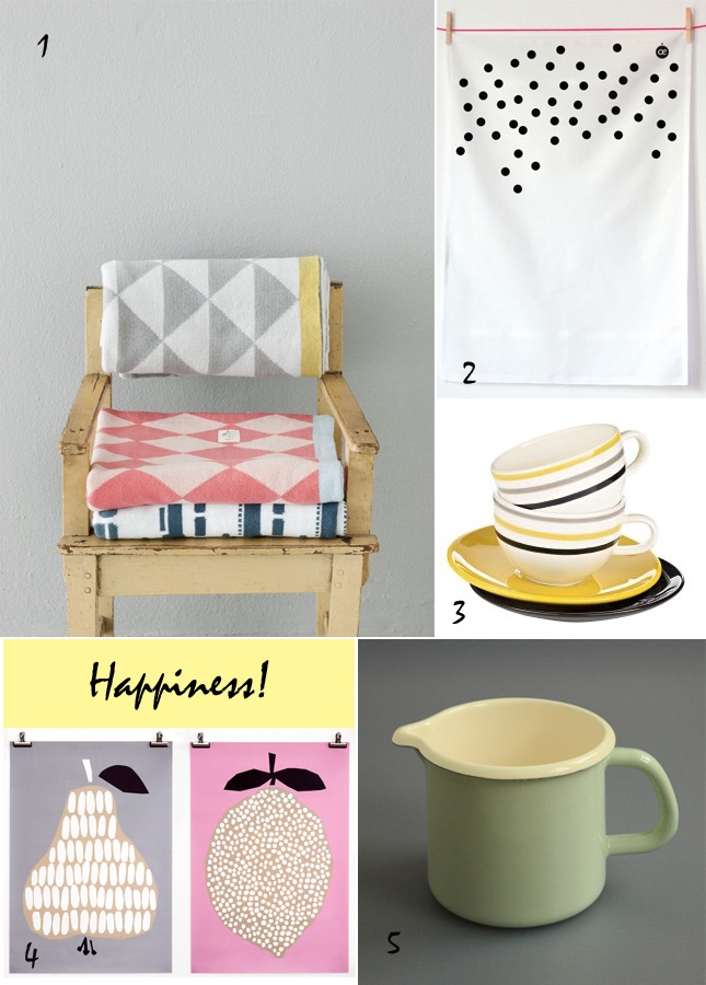 via Happy Interior Blog: Fab Fabrics, Happy Ideas